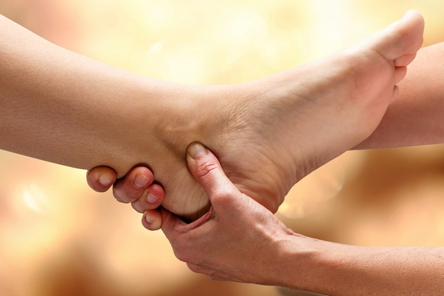 ankle pain treatment South Granville