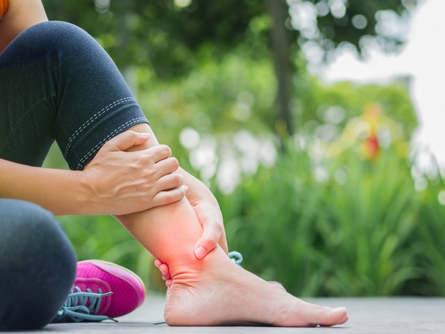 ankle pain North Strathfield